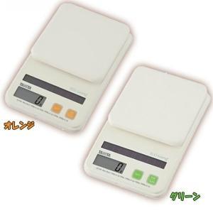 タニタ デジタルソーラークッキングスケール SD-004GR・SD-004OR グリーン・オレンジ