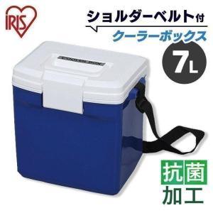 クーラーボックス 小型 CL-7 レッド/ホワイト・ブルー/ホワイト(7L/クーラー バッグ 保冷バック 保冷剤/アイリスオーヤマ)|irisplaza