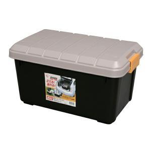 収納 ボックス 収納ボックス  工具箱  フタ付き アイリスオーヤマ 車 RVBOX RVボックス 600 容量40L 幅61.5×奥行39.5×高さ33 在庫限り(あすつく)|irisplaza