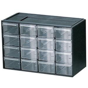 小物の収納に便利な引き出しが16個ついています。卓上での文具類や小物の収納に便利です。引き出しが飛び...