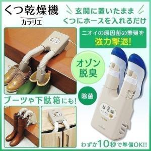 玄関でそのまま手軽に靴乾燥!濡れた靴もパワフル乾燥!! 伸縮するダブルノズルであらゆるシーンで使えま...