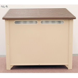 犬小屋 屋外用 ドア付 中型犬 アイリスオーヤマ irisplaza 06