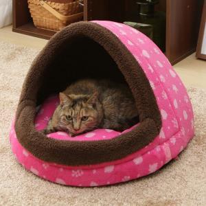 ペット ベッド あったかドームべッド あったか 冬 おしゃれ ほかほか M PBDH480 猫 ペットハウス あったかデザイン アイリスオーヤマ|irisplaza|04