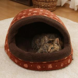 ペット ベッド あったかドームべッド あったか 冬 おしゃれ ほかほか M PBDH480 猫 ペットハウス あったかデザイン アイリスオーヤマ|irisplaza|06