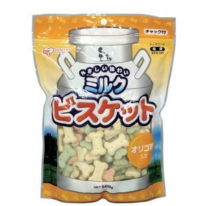 ミルクビスケット 500g BPN-500(おやつ 間食 ドッグフード/アイリスオーヤマ)