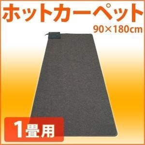 電気カーペット 1畳用 本体 90×180cm ホットカーペット ダニ退治 カーペット こたつ コタツ 併用 1畳 温度 強弱切り替え 省エネ 節電