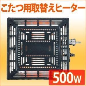 こたつ用 取替ヒーター ユニット ファン付き 510W 取替え 交換 簡単 取り付け 修理 コタツ こたつ 炬燵 薄型 ファン ユニットヒーター 温度 調節つまみ付き iristopmart123