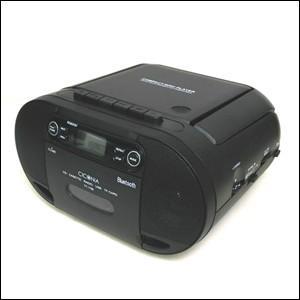 ラジカセ CDラジカセ Bluetooth USB MP3 対応 カセットデッキ CDプレーヤー FM AM ラジオ CD カセット カセットテープ チコニア TY-1709|iristopmart123