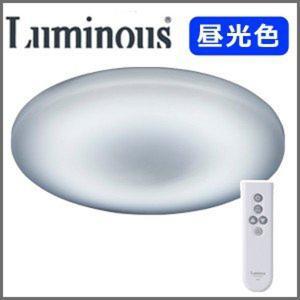 LEDシーリングライト 6畳 昼光色 調光 LED照明 ライト 天井照明 洋風 リモコン付き タイマー ルミナス WB50-T06DX|iristopmart123