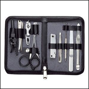 爪切り 匠の技 高級 日本製 爪切りセット 9点 爪きり 毛抜き 耳かき はさみ グルーミングキットLA G-3108|iristopmart123