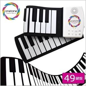 キーボード ピアノ おもちゃ ロールピアノ 49鍵盤 タッチ式 軽量 小型 電子キーボード 電子ピアノ 初心者 練習用 OTR-49|iristopmart123