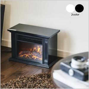 暖炉型ファンヒーター ファンヒーター 電気ストーブ 暖炉型ヒーター ストーブ 擬似炎 アンティーク調 温風 速暖 暖房器具 HD-100の画像