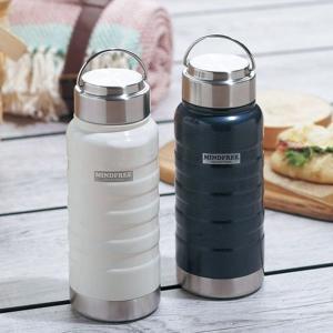 水筒 おしゃれ 550ml ステンレス 真空二重構造 マグボトル 保温 保冷 直飲み ステンレスボトル タンブラー マインドフリー MF-05|iristopmart123