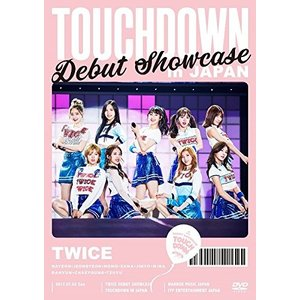 "TWICE DEBUT SHOWCASE ""Touchdown in JAPAN"" DVD"