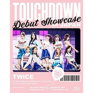 "TWICE DEBUT SHOWCASE ""Touchdown in JAPAN"" Blu-ray ..."