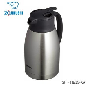 象印 ステンレス ポット 水筒 おしゃれ 保温 保冷 1.5リットル SH‐HB15-XA ステンレ...