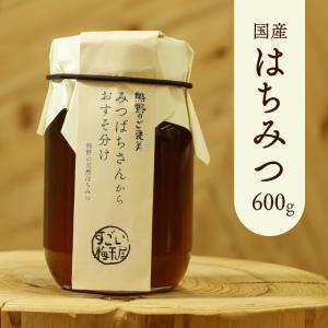 天然はちみつ  奥熊野山蜜 600g 日本ミツバチ天然蜂蜜(ハチミツ)国産 日本産 和歌山産|irodoriya