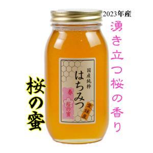 はちみつ 国産はちみつ 蜂蜜 ハチミツ 愛媛県産 桜の蜜 さくら サクラ 1Kg|iroha-beebeey