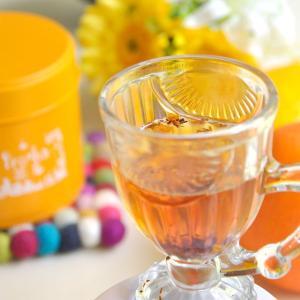 色彩心理を使ったハーブのブレンド〜色茶〜【オレンジ缶】-太陽のあたたかさ