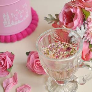 色彩心理を使ったハーブのブレンド〜色茶〜【ピンク缶】-無償の愛