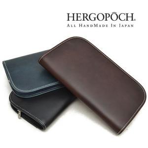 エルゴポック HERGOPOCH 06シリーズ ワキシングレザー クラッチバッグ メンズ 06-CL ブランド 本革 革 irohamise