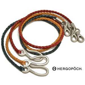 エルゴポック HERGOPOCH 06シリーズ ワキシングレザー ウォレットコード メンズ 06W-IWC ブランド 本革 革 irohamise