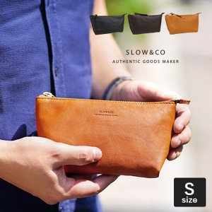 スロウ SLOW ルボーノ rubono ポーチ S 栃木レザー 本革 メンズ 300S18C ブランド|irohamise