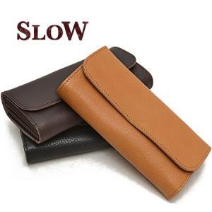 スロウ SLOW ボーノ bono フラップ 長財布 栃木レザー 本革 メンズ 333S24C ブランド|irohamise