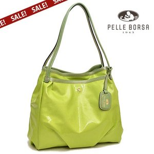 40%OFF セール SALE ペレボルサ PELLE BORSA ライトトラベル Light Travel 2wayトートバッグ 3921-GL グリーン|irohamise