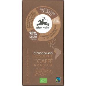 アルチェネロ 有機ダークチョコレート・コーヒー 50g 日仏貿易