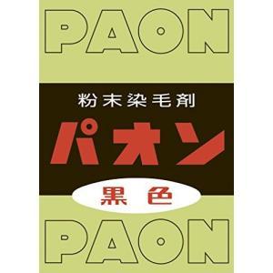 パオン 粉末 黒 6g|iron-peace