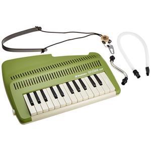 SUZUKI スズキ 鍵盤リコーダー アンデス andes 25F 鍵盤楽器なのに笛の音 和音も奏でられる鍵盤リコーダー グリー?|iron-peace