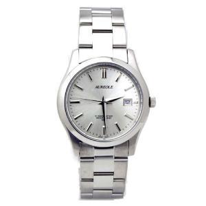 [オレオール]AUREOLE 腕時計 ステンレスバンド SW-409M-3 メンズ iron-peace