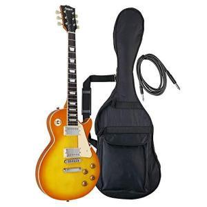 PhotoGenic フォトジェニック エレキギター レスポールタイプ LP-260/HB ハニーバースト|iron-peace