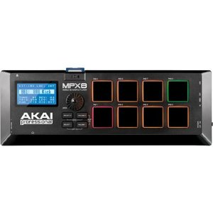 Akai Professional サンプラー 8パッド SDカードスロット MPX8|iron-peace