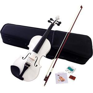 Hallstatt ハルシュタット ヴァイオリン ホワイト V-12/WH 4/4サイズバイオリン (通常サイズ)|iron-peace