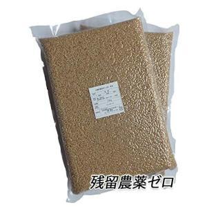新米令和2年産 残留農薬ゼロ秋田県産あきたこまち 玄米5kg(真空パック2.5kg×2) iron-peace