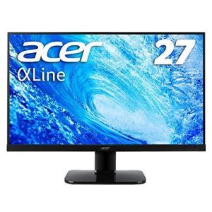 Acer モニター ディスプレイ AlphaLine 27インチ KA270HAbmidx フルHD VA フレームレス HDMI DVI D-Sub スピーカー内蔵 ブルー|iron-peace