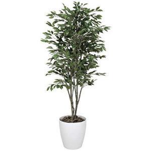 光触媒 人工観葉植物 光の楽園 ベンジャミンツリー 1.6m 156C380|iron-peace
