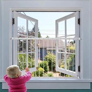 エルフ ベビー(Fairy Baby)ベビーガード 窓フェンス 子供用 転落防止柵 92-156cm(2枚連結)|iron-peace