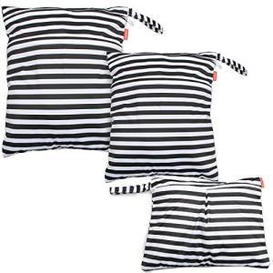 Damero ウェットバック(防水バッグ) 3点セット オムツ・おしりふき・着替え・タオル・水着・お風呂用品・食事セ|iron-peace