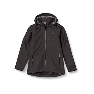 [カペルミュール] サイクリング ウォータープルーフジャケット セミロング ブラック kpjk071 メンズ/レディース iron-peace