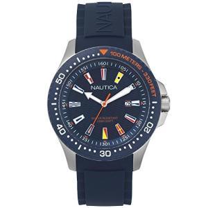 [ノーティカ] 腕時計 NAPJBC002 メンズ 正規輸入品 ブルー iron-peace