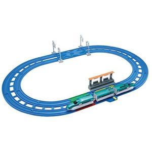 タカラトミー(TAKARA TOMY) プラレール レーンがクロス! E5系新幹線 はやぶさベーシックセットW290×H230×D125mm iron-peace