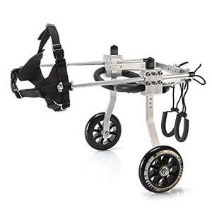 犬の歩行器 犬 ペット 車椅子 後肢 リハビリ 調整可能 M iron-peace