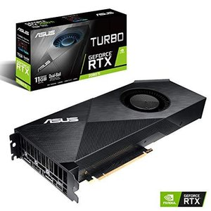 ASUS NVIDIA GeForce RTX 2080 搭載 デュアルファンモデル 11GB TURBO-RTX2080TI-11G|iron-peace