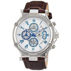[サルバトーレマーラ] 腕時計 クロノグラフ ローマインデックス SM18102-SSWH メンズ 正規輸入品 iron-peace