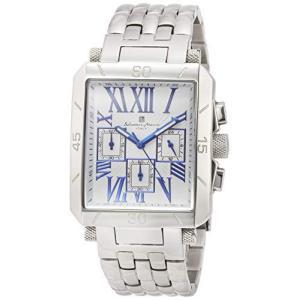 [サルバトーレマーラ] 腕時計 クロノグラフ ローマインデックス SM17117-SSWHBL メンズ 正規輸入品 iron-peace