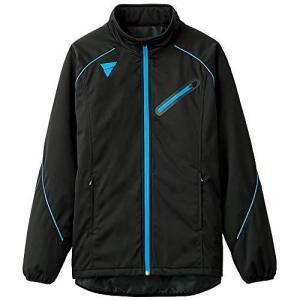 VICTAS(ヴィクタス) 卓球 男女兼用 ウォームアップ ジャージ ジャケット V-WJ804 033159 M ブラック(0020) iron-peace