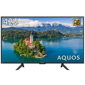 シャープ 42V型 フルハイビジョン 液晶 テレビ AQUOS USB外付けHDD対応 2T-C42BE1|iron-peace